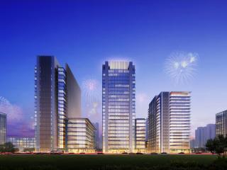 唐山凤凰新城小区域城市设计