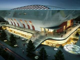 北京对外经贸大学新体育馆