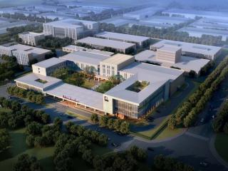 北京大兴医药产业园某药厂总部设计