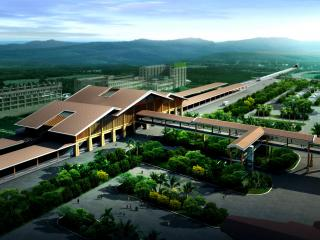 三亚凤凰机场高铁站
