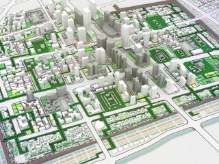管城区商城遗址城市设计及景观设计