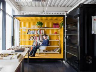 officePROJECT移動集裝箱工作室改造設計