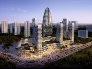 湖南郴州  万通地产高铁站地块项目