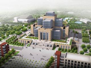 昆明理工大学呈贡校区 图书馆
