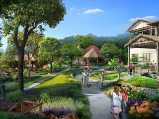 海南三亚鸿洲尖峰岭国家森林公园雨林谷度假村