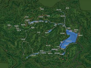 揭阳市宝山湖生态产业园 仙林场水库周边园景节点规划与设计