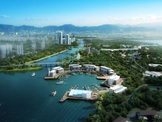 丙洲岛旅游概念规划