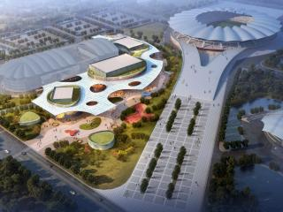 昆山市体育中心乒羽馆项目