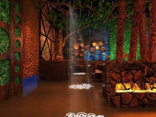 远古部落风格餐厅室内设计