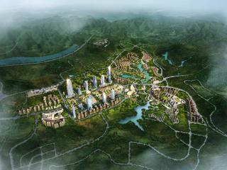 巴中智慧低碳新城首期启动区城市设计与规划