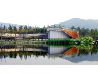 青岛李村河公园观景台