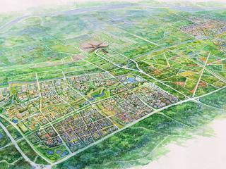 临空经济区( 北京部分) 起步区城市设计