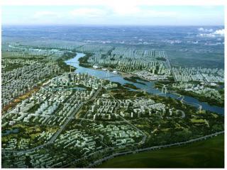 通辽市西辽河滨水地区 城市设计