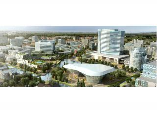 宁波慈溪周巷镇新区 城市设计