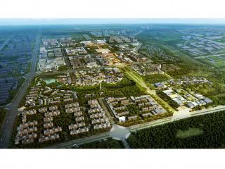新绛县城新城中轴线城市设计