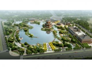 山西新绛龙湖城市公园景观设计方案