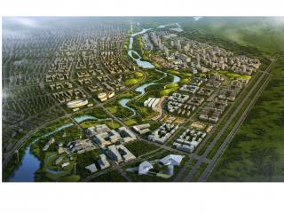 通辽扎鲁特旗鲁北河两岸概念性城市设计