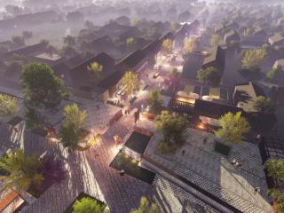 河南濮阳荷花特色小镇整体规划及单体建筑设计