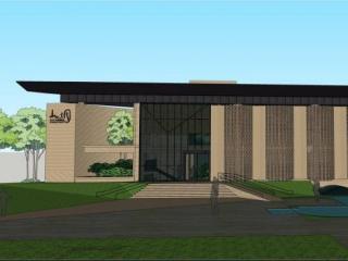 山水文园艺术馆改造设计