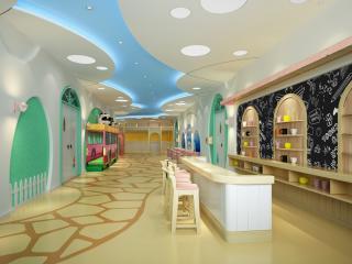 北京海淀实验学校(原立新学校)幼儿园室内公共区改造