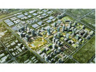 郑州国际商都 E 贸易核心区城市设计