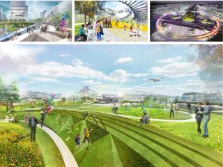 临空经济区(北京部分)起步区城市设计方案征集