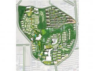 鹿泉中节能健康文化产业园修建性城市设计