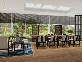 丽宫别墅茶室设计