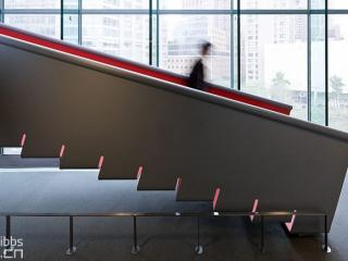 万科长沙紫台-钢板楼梯