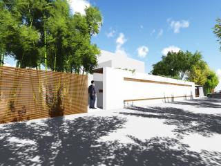 碧水莊園某別墅庭院設計