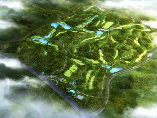 磨盤山高爾夫球場