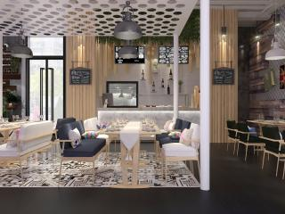 大商新瑪特食之秘餐廳設計