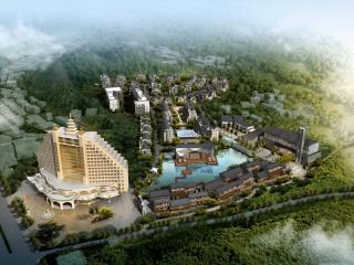 中国-罗浮山影视文化创意园概念规划设计
