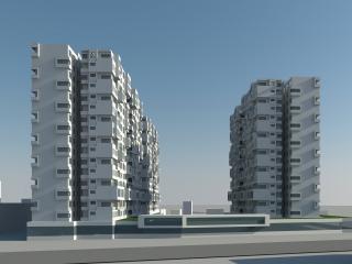 金坑家园商住小区建筑设计方案