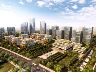 燕郊高新技术创业园启动区概念方案设计