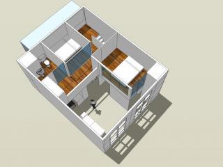 北京朝陽北京城建N次方loft室內設計