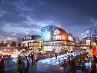 绿地集团长沙溁湾镇CBD大观商业综合体项目