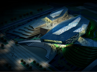 湖南省地质博物馆建筑方案设计