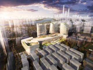 上海浦东新区塘桥地铁站城市综合体