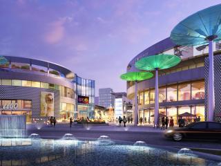 长沙梅溪湖 步步高新天地 商业综合体 方案及扩初设计