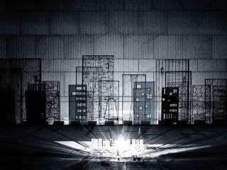 北京国际设计周 Phantom(魅影)交互艺术装置