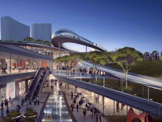 深圳宝安区滨水文化商业综合体 方案设计