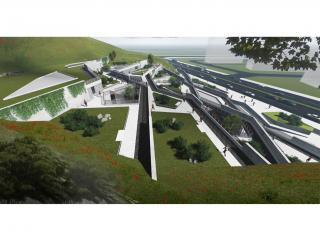 青島浮山創客體育公園建筑設計