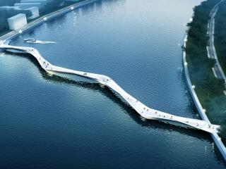 玉泉路景观桥