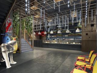 武汉市U你餐厅设计