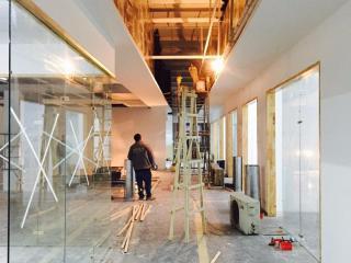 北京华电嘉实电力设备有限公司新办公室内改造