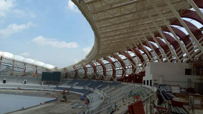 昆山公园_广西崇左市体育中心设计案例_小筑设计